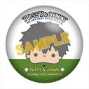 【グッズ-バッチ】銀魂×サンリオキャラクターズ ぷにぷに缶バッジ 土方十四郎の画像