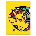 【グッズ-クリアファイル】ポケットモンスター 切り絵シリーズ クリアファイル ピカチュウの画像
