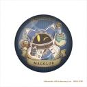 【グッズ-マグネット】星のカービィ カービィと夢幻の歯車 ガラスマグネット マホロアの画像