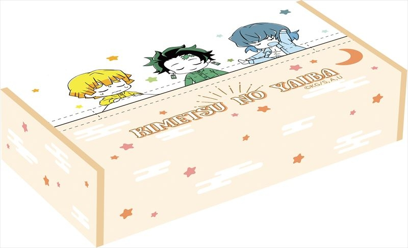 『鬼滅の刃』えんぴつセット、ティッシュボックスカバー、絆創膏など予約受付中!【10月~11月発売予定】