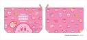 【グッズ-ポーチ】星のカービィ KIRBY MUTEKI! SUTEKI! CLOSET ポーチ ピンクの画像
