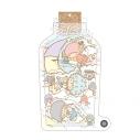 【グッズ-キーホルダー】銀魂 × Sanrio characters しゃかしゃかキーホルダー Yorozuya Ginchanの画像