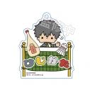 【グッズ-キーホルダー】銀魂 × Sanrio characters おなまえキーホルダー 土方の画像