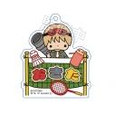 【グッズ-キーホルダー】銀魂 × Sanrio characters おなまえキーホルダー 沖田の画像