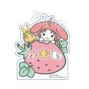 【グッズ-キーホルダー】銀魂 × Sanrio characters おなまえキーホルダー 神威の画像