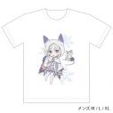 【グッズ-Tシャツ】Re:ゼロから始める異世界生活 フルカラーTシャツ(エミリア/フード)XLサイズの画像