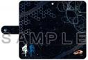 【グッズ-カバーホルダー】戦姫絶唱シンフォギアAXZ 手帳型スマホケース(翼&マリア)汎用Lサイズの画像