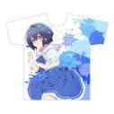 【グッズ-Tシャツ】ゾンビランドサガ フルグラフィックTシャツ(水野愛/セーラー) XLサイズの画像