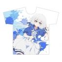 【グッズ-Tシャツ】ゾンビランドサガ フルグラフィックTシャツ(紺野純子/セーラー) XLサイズの画像