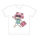 【グッズ-Tシャツ】マギアレコード 魔法少女まどか☆マギカ外伝 フルカラーTシャツ (鹿目アロハ)XLサイズの画像
