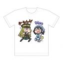 【グッズ-Tシャツ】マギアレコード 魔法少女まどか☆マギカ外伝 フルカラーTシャツ (アリナ・グレイ&千秋 理子)XLサイズの画像