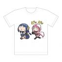 【グッズ-Tシャツ】マギアレコード 魔法少女まどか☆マギカ外伝 フルカラーTシャツ (七海 やちよ&いろはちゃん/運動)XLサイズの画像