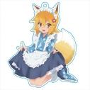 【グッズ-キーホルダー】世話やきキツネの仙狐さん アクリルキーホルダー[メイド仙狐さん]の画像
