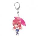 【グッズ-キーホルダー】カノジョも彼女 傘っこアクリルキーホルダー 佐木 咲の画像