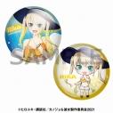 【グッズ-バッチ】カノジョも彼女 描き下ろし缶バッジセット 理香【アニメイト限定】の画像