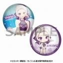【グッズ-バッチ】カノジョも彼女 描き下ろし缶バッジセット 紫乃【アニメイト限定】の画像