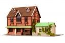 【グッズ-その他】ご注文はうさぎですか?? 甘兎庵&シャロの家 アニテクチャーキットの画像