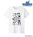 【グッズ-Tシャツ】グリムノーツ The Animation ラインアート Tシャツ メンズ(サイズ/XL)の画像