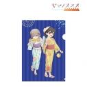【グッズ-クリアファイル】ヤマノススメ サードシーズン 描き下ろしイラスト あおい&ひなた クリアファイルの画像