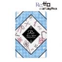 【グッズ-パスケース】Re:ゼロから始める異世界生活 レム ラインアート 1ポケットパスケースの画像