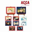 【グッズ-置きもの】ACCA13区監察課 トレーディングミニアートフレームの画像