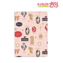 【グッズ-パスケース】カードキャプターさくら クリアカード編 モチーフ柄 4ポケットパスケース (ピンク)の画像
