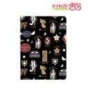 【グッズ-パスケース】カードキャプターさくら クリアカード編 モチーフ柄 4ポケットパスケース (ブラック)の画像