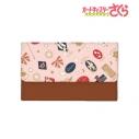 【グッズ-キーケース】カードキャプターさくら クリアカード編 モチーフ柄 キーケース (ピンク)の画像