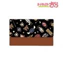 【グッズ-キーケース】カードキャプターさくら クリアカード編 モチーフ柄 キーケース (ブラック)の画像