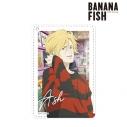 【グッズ-パスケース】BANANA FISH 描き下ろしイラスト アッシュ・リンクス レコードショップver. 1ポケットパスケースの画像