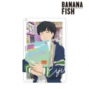 【グッズ-パスケース】BANANA FISH 描き下ろしイラスト 奥村英二 レコードショップver. 1ポケットパスケースの画像