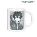 【グッズ-マグカップ】ソードアート・オンライン キリト Ani-Art マグカップの画像
