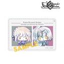 【グッズ-パスケース】Fate/Grand Order Design produced bySanrioアルトリア・ペンドラゴン(オルタ)&ジャンヌ・ダルク(オルタ)Ani-Art1ポケットパスケースの画像