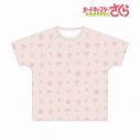 【グッズ-Tシャツ】カードキャプターさくら クリアカード編 モチーフ柄 フルグラフィックTシャツ ユニセックス(サイズ/XL)の画像