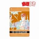 【グッズ-パスケース】幽☆遊☆白書 桑原和真 Ani-Art 1ポケットパスケースの画像