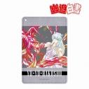 【グッズ-パスケース】幽☆遊☆白書 妖狐蔵馬 Ani-Art 1ポケットパスケースの画像