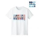 【グッズ-Tシャツ】転生したらスライムだった件 デフォルメAni-Art Tシャツレディース(サイズ/XL)の画像