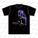 【グッズ-Tシャツ】Re:ゼロから始める異世界生活 箔プリントTシャツ エミリア(M)の画像