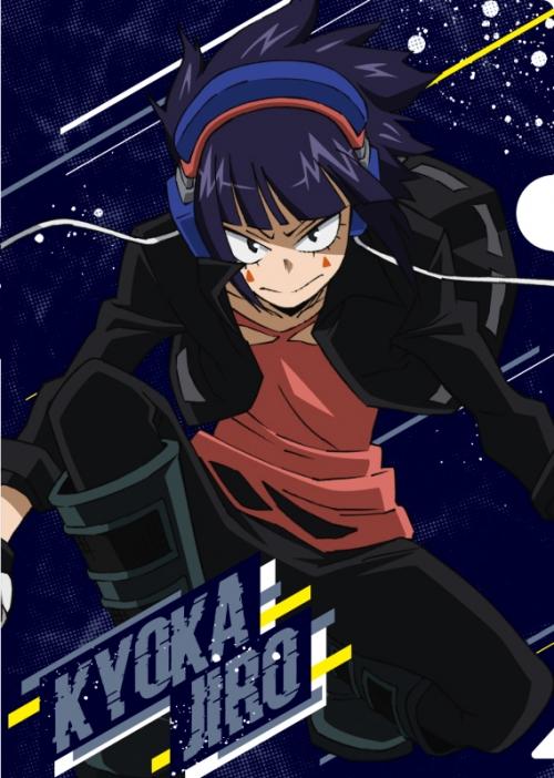 グッズ クリアファイル 僕のヒーローアカデミア クリアファイル 耳郎響香 アニメ5期ver Vol 2 アニメイト