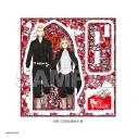 【グッズ-スタンドポップ】東京リベンジャーズ ビードロアートコレクションジュエルスタンド 佐野万次郎&龍宮寺堅の画像