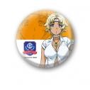 【グッズ-バッチ】神田川JET GIRLS 缶バッジ100 エミリー・オレンジの画像