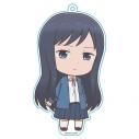 【グッズ-キーホルダー】女子高生の無駄づかい ぷにこれ!キーホルダースタンド付 鷺宮しおり(ロボ)の画像