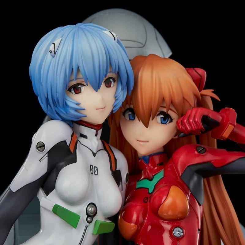 【美少女フィギュア】新世紀エヴァンゲリオン レイ&アスカ ~twinmore Object~ 完成品フィギュア
