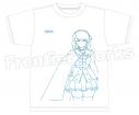 【グッズ-Tシャツ】特価 TVアニメ『アズールレーン』 Tシャツ(プリンス・オブ・ウェールズ)の画像