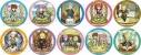 【グッズ-バッチ】テイルズ オブ グレイセス エフ キャラクタークロニクル トレーディング缶バッジの画像