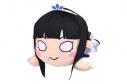 """【グッズ-ぬいぐるみ】ラブライブ!サンシャイン!!The School Idol Movie Over the Rainbow 寝そべりぬいぐるみ""""黒澤ダイヤ""""(LL)の画像"""