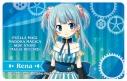 【グッズ-ステッカー】マギアレコード 魔法少女まどか☆マギカ外伝 ICステッカー 水波レナの画像
