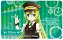 【グッズ-ステッカー】マギアレコード 魔法少女まどか☆マギカ外伝 ICステッカー アリナ・グレイの画像