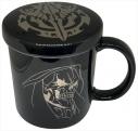 【グッズ-マグカップ】オーバーロードⅡ 蓋つきマグカップ アインズの画像