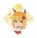 【グッズ-キーホルダー】世話やきキツネの仙狐さん クッションキーホルダー 仙狐の画像
